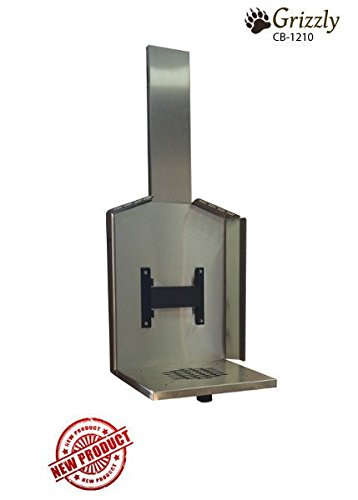 Cubic Mini - Cubic Mini Stove - Grizzly - Mounts and Accessories (Stainless Steel Wall Mount w/Fresh Air Intake - CB-2277-SS)