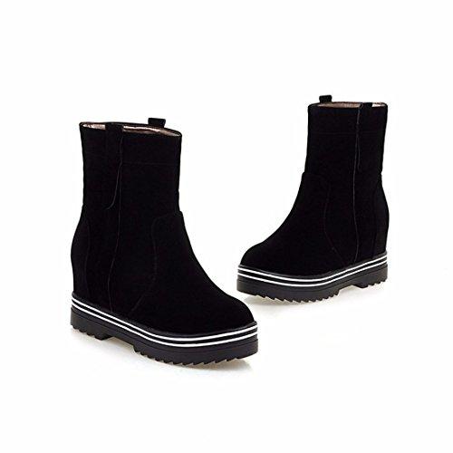 black botas tamaño Martin de Terry inferior cálido señoras grueso Botas botas invierno PwZqpB