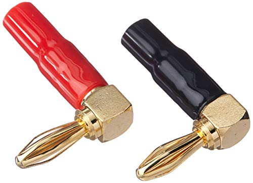 Monoprice 10 Pair Right Angle 24k Gold Plated Banana Speaker
