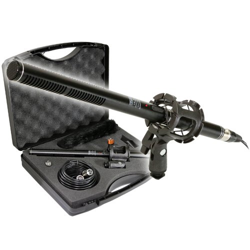 Vidpro XM-88 13-Piece Professional Video & Broadcast Unidirectional Condenser Microphone Kit