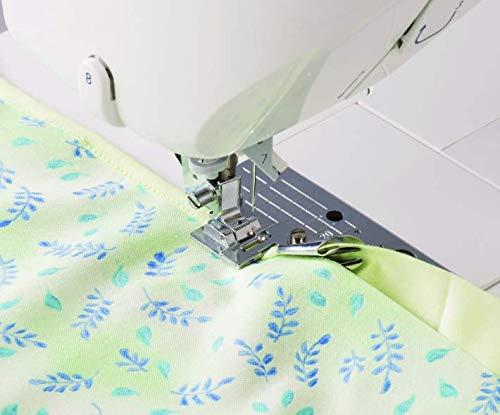 Snap-On Kit 2 Prensatelas Bies Ajustable y Dobladillo para M/áquinas de Coser Singer Alfa Silvercrest Universal La Canilla /®