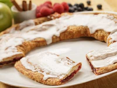 Danish Kringle Gift Box, Raspberry