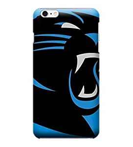iPhone 6 Cases, NFL - Carolina Panthers Large Logo - iPhone 6 Cases - High Quality PC Case