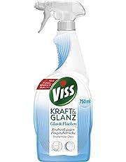 Viss Spray do czyszczenia szyb i powierzchni dla perfekcyjnego połysku, wodoodporna technologia 750 ml, 1 sztuka