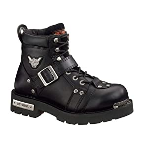 Harley-Davidson Men's Brake Buckle Boot,Black,9.5 M