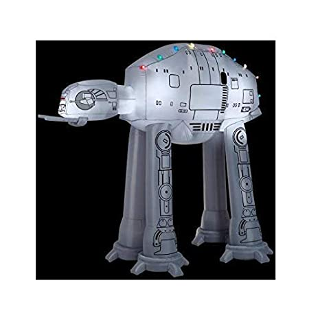 buy popular 82b28 83409 Gemmy 37523 Airblown at-at w/Light String Star Wars Christmas Inflatable