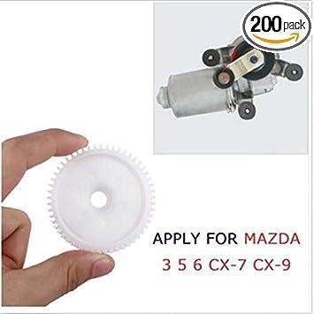 1Pc Front Rear Power Window Regulator Motor Gear For MAZDA 3 5 6 CX-7 CX-9 RX-8