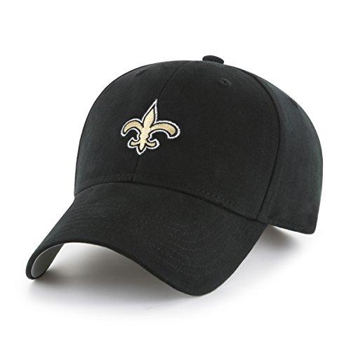 NFL New Orleans Saints Toddler Cinch OTS All-Star Adjustable Hat, Black, Toddler