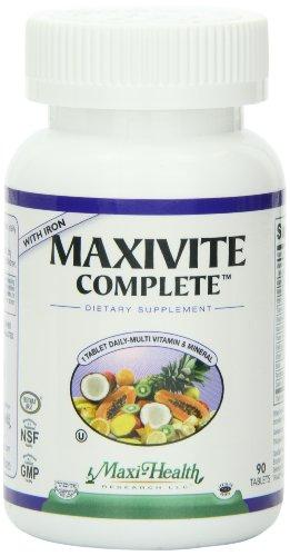Maxi Health MAXIVITE Complete Multivitamin product image
