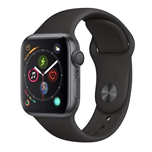 Apple Watch Series 4, 40 mm, Alumínio Cinza Espacial, Pulseira Esportiva Preta...