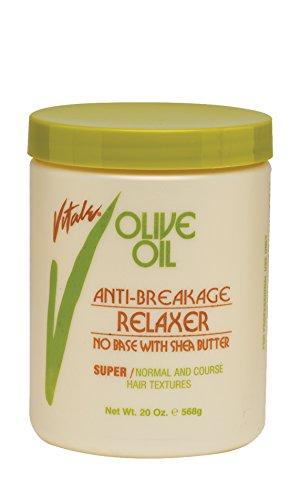 Vitale Vitale olive oil anti breakage no base super relaxer 20 ounce, Beige, 20 Ounce