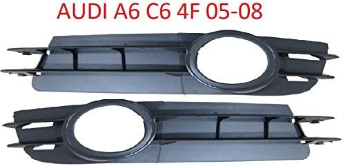 A6 C6 4 F 05 08 Essence Pare-chocs Grille de barbecue grille de ventilation de fa/çade dautoradio droite gauche