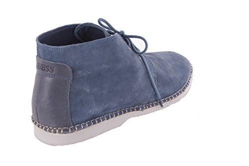 Bottes Bleu Chaussures Up Hommes Guess Lace fqw0tp7P