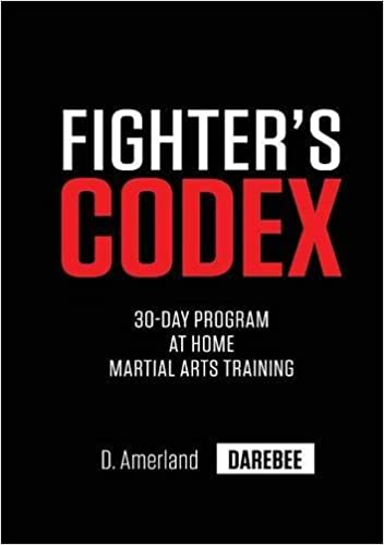 Book Fighter's Codex: 30-Day At Home Martial Arts Training Program