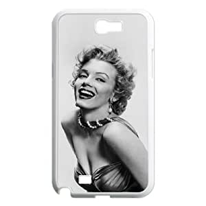 C-EUR Diy Phone Case Marilyn Monroe Pattern Hard Case For Samsung Galaxy Note 2 N7100