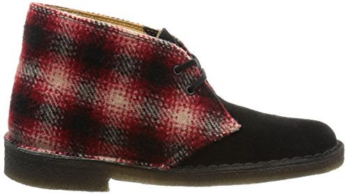 Donna Boot Combi Woolrich red rouge Originals Rosso Stivali Clarks Desert qxHUgW