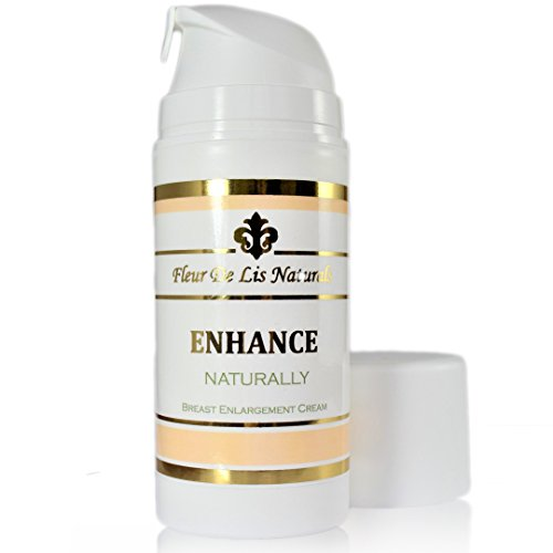 Natural Breast Enlargement Cream - ENHANCE NATURALLY - 3.38 oz