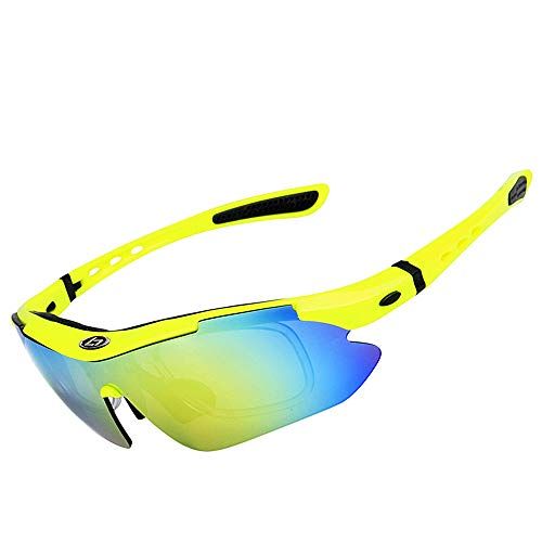 Lunettes Protection Lunettes Lunettes pour UV400 de extérieures polarisées Clarity Hommes Yellow de 5 pour Soleil Black Soleil Color de WEATLY SP0868 zdA0wq0