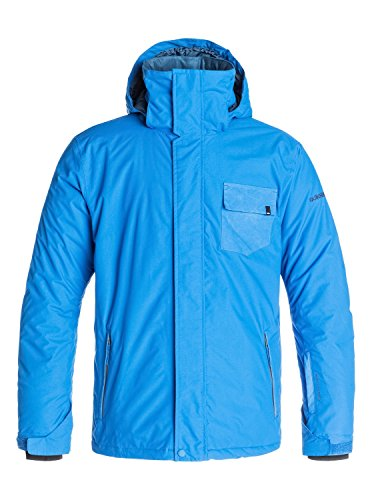 Quiksilver Snow Men's Mission Plain Jacket, Olympian