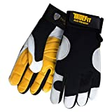 TILLMAN 1489 ANTI-VIBRATION TRUEFIT GLOVES - LARGE