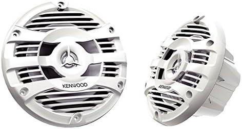 """Kenwood KFC-1653MRW 6.5"""" 2-Way Marine Speakers Pair"""