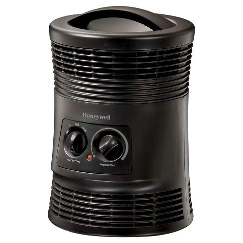 Honeywell 360 Surround Indoor Heater Black 1500W HHF360B for Home or Office