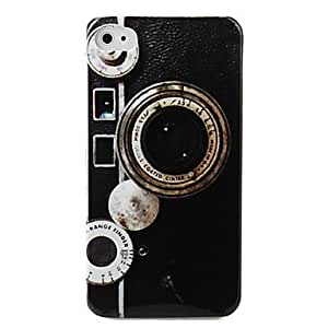 Bkjhkjy Protective Hard ABS Case for iPhone 4 and 4S (Lens)