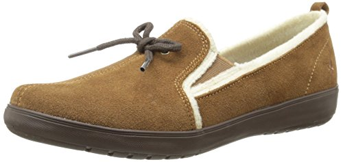 Grasshoppers Mujeres Noelle Suede Slip-on Loafer Toffee