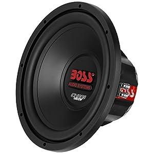 "Boss 12"" 1800W 4 Ohm Subwoofer w/Sealed Sub Box + Riot 1100W Monoblock Amplifier"