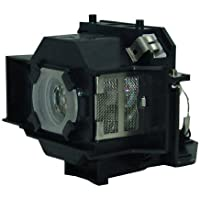 GloWatt ELPLP33 / V13H010L33 Projector Replacement Lamp With Housing for Epson Projectors