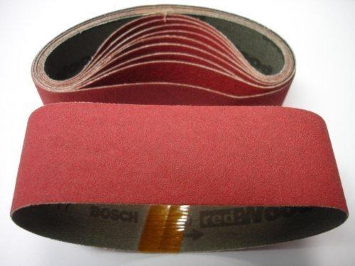 Bosch SCBR080B 1-1/2' x 12' 80G Sanding Belt 10 pc - 2610951967