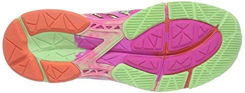 ASICS Gel-Noosa Tri 10 - Zapatillas de deporte para mujer Coral / Verde / Fucsia