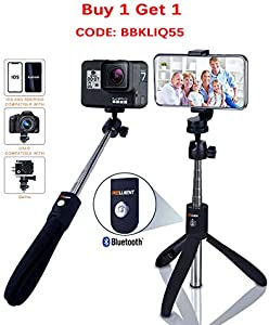 Win A Free Selfie Stick Bluetooth – FREELLIGENT Extendable Selfie Stick…