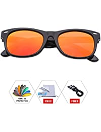 Kids Polarized Sunglasses With Strap Glasses Shades for...