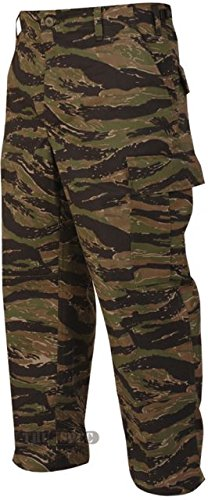Tru-Spec BDU Trousers CP Twill Vietnam Tiger Stripe M-Short (Vietnam Tiger Stripe Bdu)