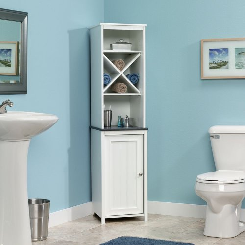 Sauder Linen Tower Cabinet Finish product image