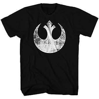 Amazon.com: Star Wars Men's Old Rebel T-Shirt: Clothing