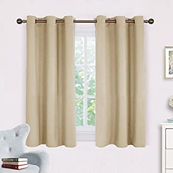blackout curtain panels for living room nicetown thermal insulated