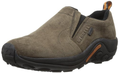 Merrell Men's Jungle Moc Waterproof Slip-On Shoe,Gunsmoke,11 M US