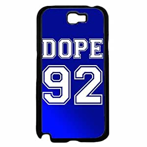Dope 92 Blue Jersey- Plastic Phone Case Back Cover Samsung Galaxy Note II 2 N7100