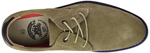 XTI 047001, Zapatos de Cordones Derby para Hombre Marrón (Taupe)