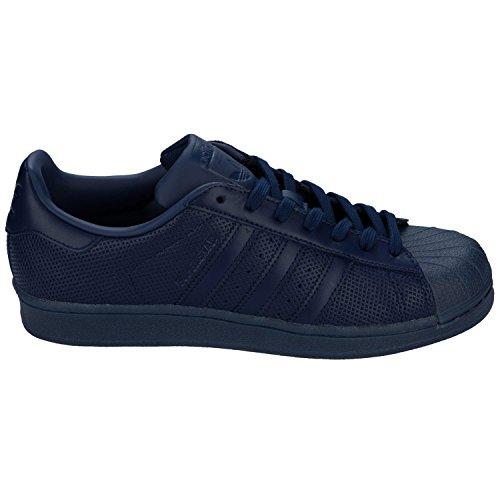 Fonc Adidas Les Chaussures Marine Hommes Sport Superstar Bleu De wAgB1qA