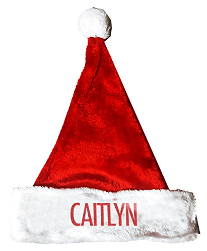 [CAITLYN Santa Christmas Holiday Hat Costume for Adults and Kids u6] (Caitlyn Costumes)