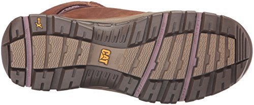 Caterpillar Women's Ally 6'' Waterproof Comp Toe Industrial and Construction Shoe, Brown, 10 W US by Caterpillar (Image #3)