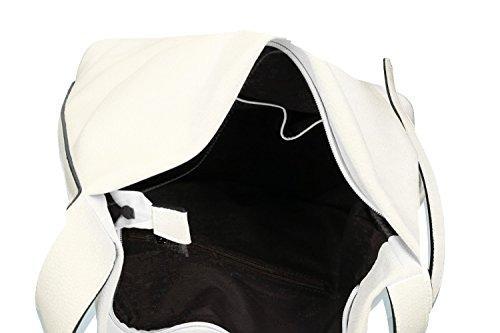 Tasche damen schulter PIERRE CARDIN weiß ffnung zip VN1203