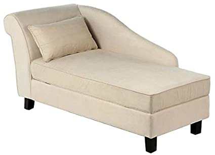 Storage Chaise Lounge Chair  This Microfiber Upholstered Lounger Is Perfect  For Your Home Or Office