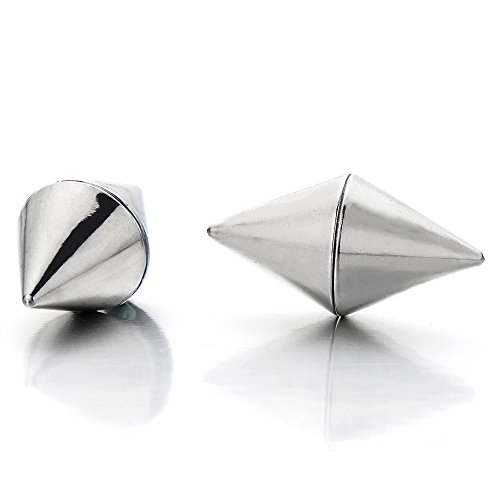 Magnetic Spike Earrings Non Piercing Cheater