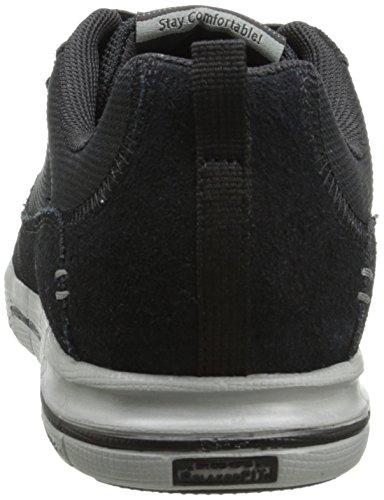 Skechers Relaxed Fit Arcade II - Next Move - zapatillas de cuero hombre Negro - Negro (Bkgy)