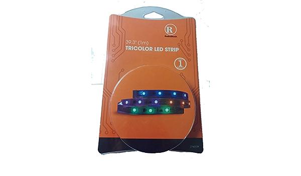RadioShack Tricolor tira LED: Amazon.es: Instrumentos musicales