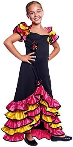 Disfraz Rumbera Niña (10-12 años) (+ Tallas) Carnaval Mundo ...